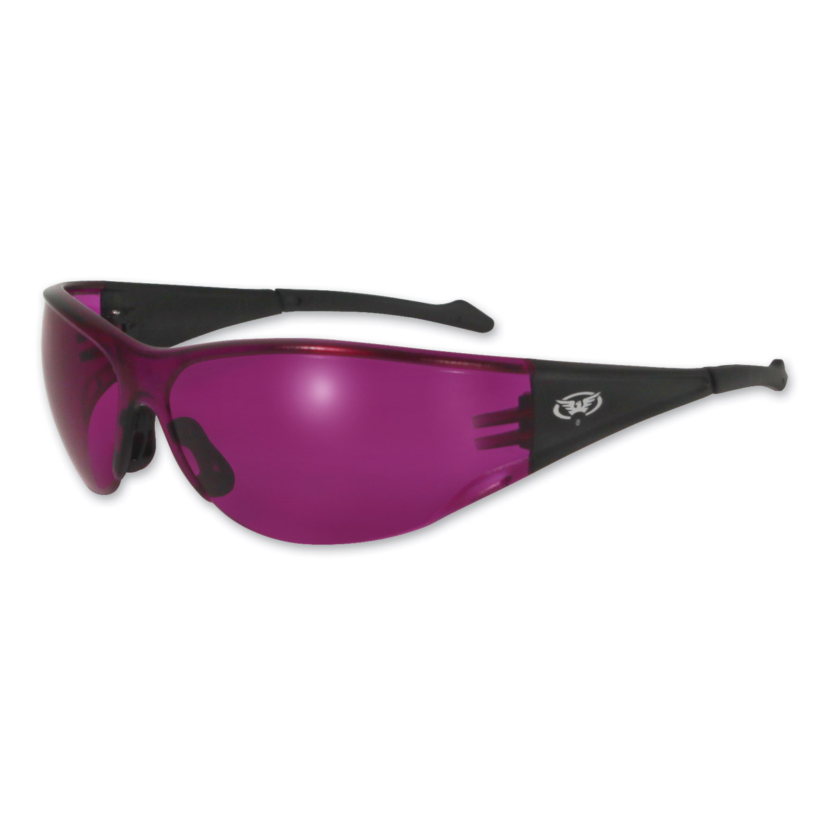 Global Vision Eyewear Full Throttle C Sunglasses with Purple Lens