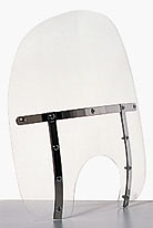 Memphis Shades Memphis Fats 21″ Tall Clear Windshield 7″ Headlight