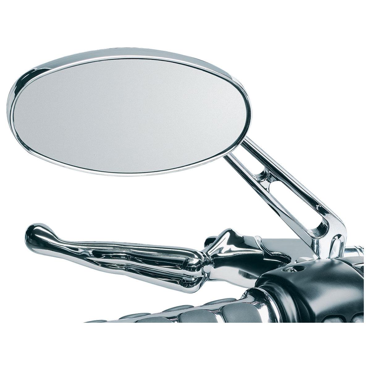 Kuryakyn Ellipse Mirrors with Flat Glass