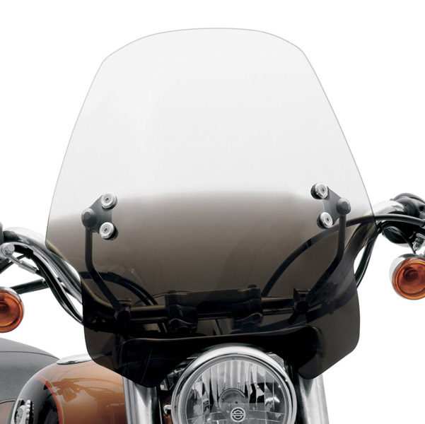 Memphis Shades Hell Cat Gradient Black Handlebar Mount Windshield