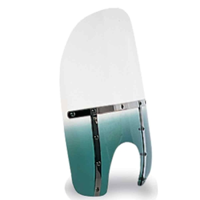 Memphis Shades Memphis Fats 13″ Tall Gradient Teal Windshield 9″ Headlight