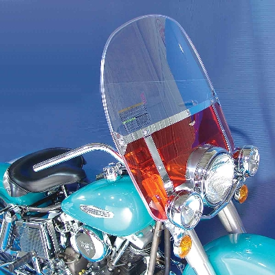 J&P Cycles® Beaded Windshield Kit