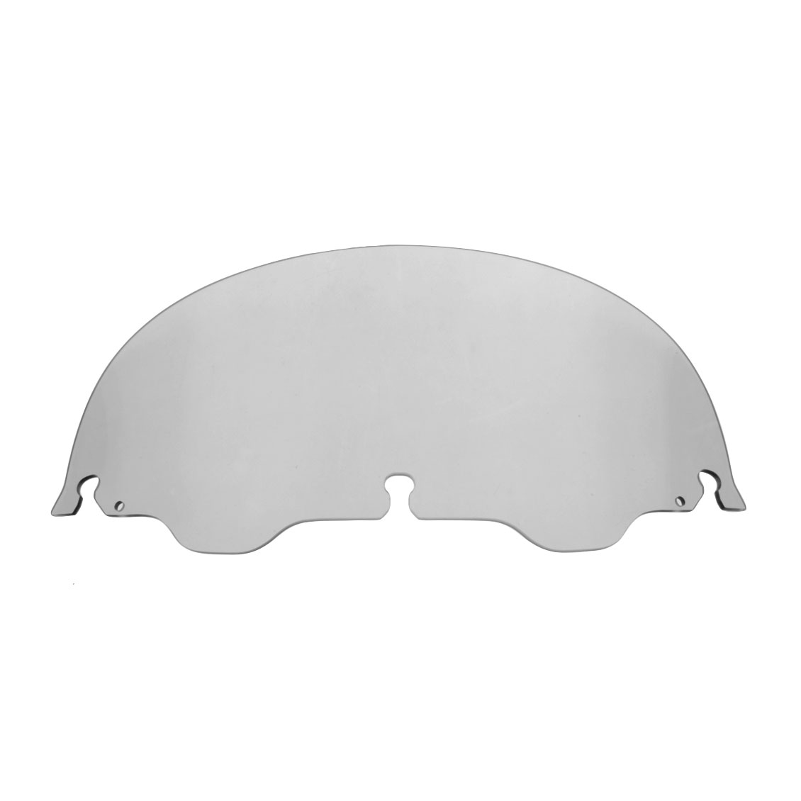 J&P Cycles® Air-Blade 10″ Smoke Acrylic Replacement Windshield