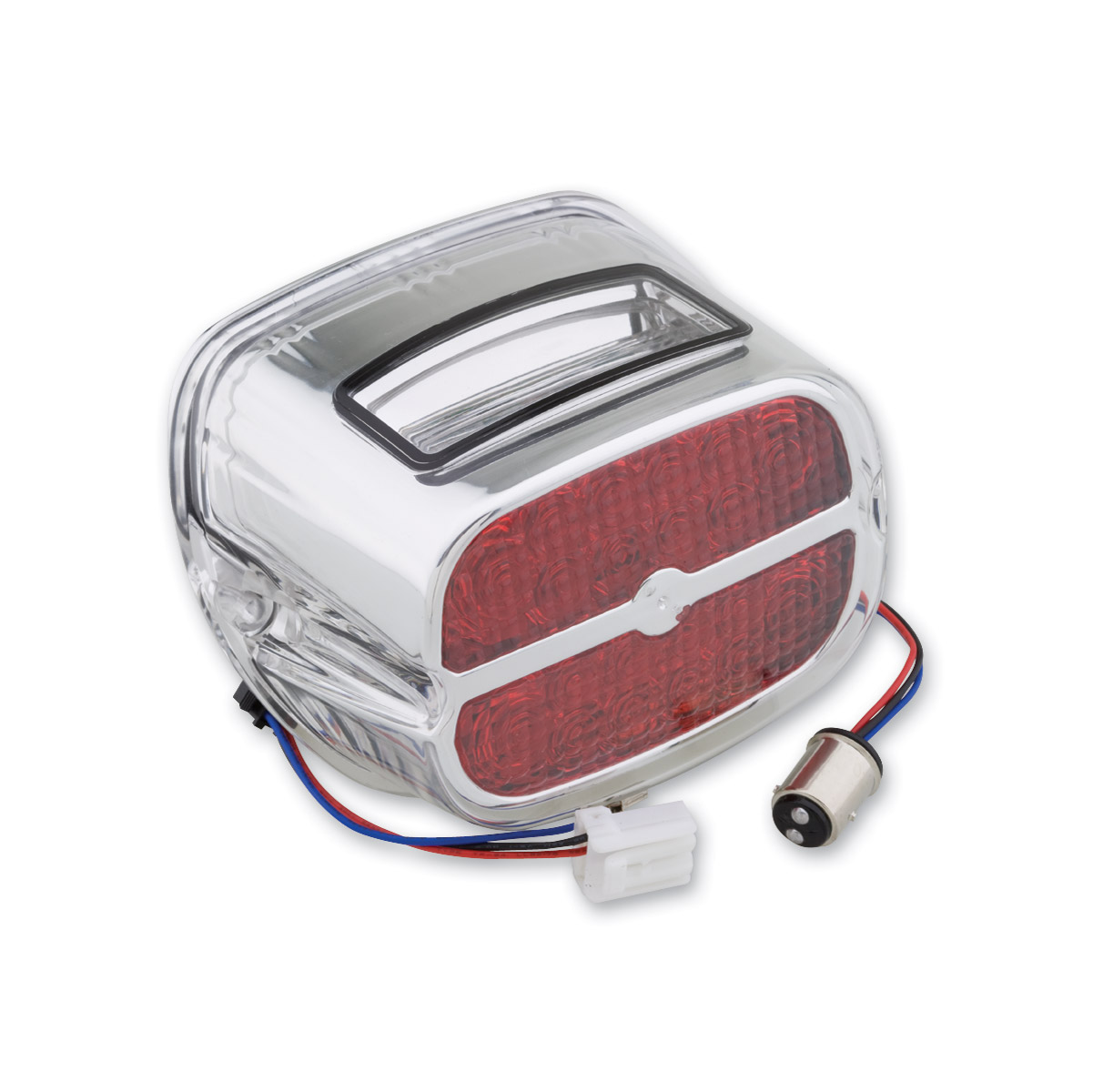 Milwaukee Twins LED Taillight with Red Lens