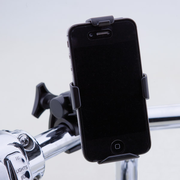 J&P Cycles® Mobile Device Mount and Cradle Kit