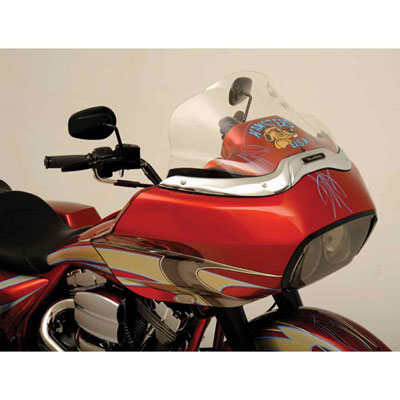 Klock Werks Clear Flare Windshield 12″