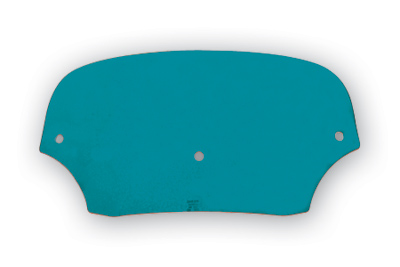 Memphis Shades Batwing Fairing 5″ Solid Teal Windshield
