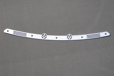 California Custom Cruisers Polished Stainless Steel Trim for Quadzilla Fairings