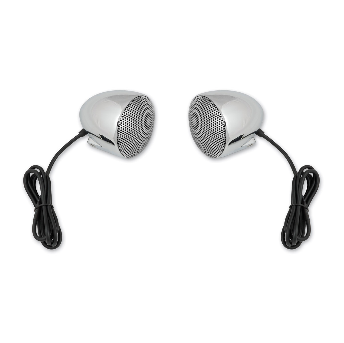 Cycle Sounds 3″ Speaker Upgrade Kit with Chrome Grills