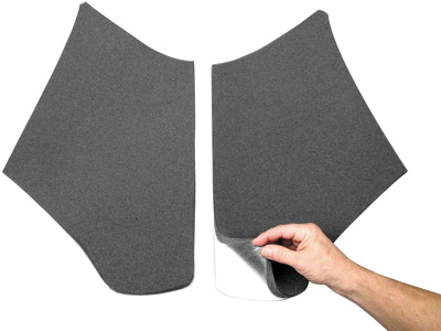 J&M Fairing/Speaker Acoustic Pads for Road Glide