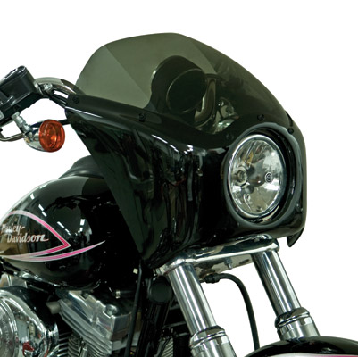 Arlen Ness Gloss Black Fairing for Dyna