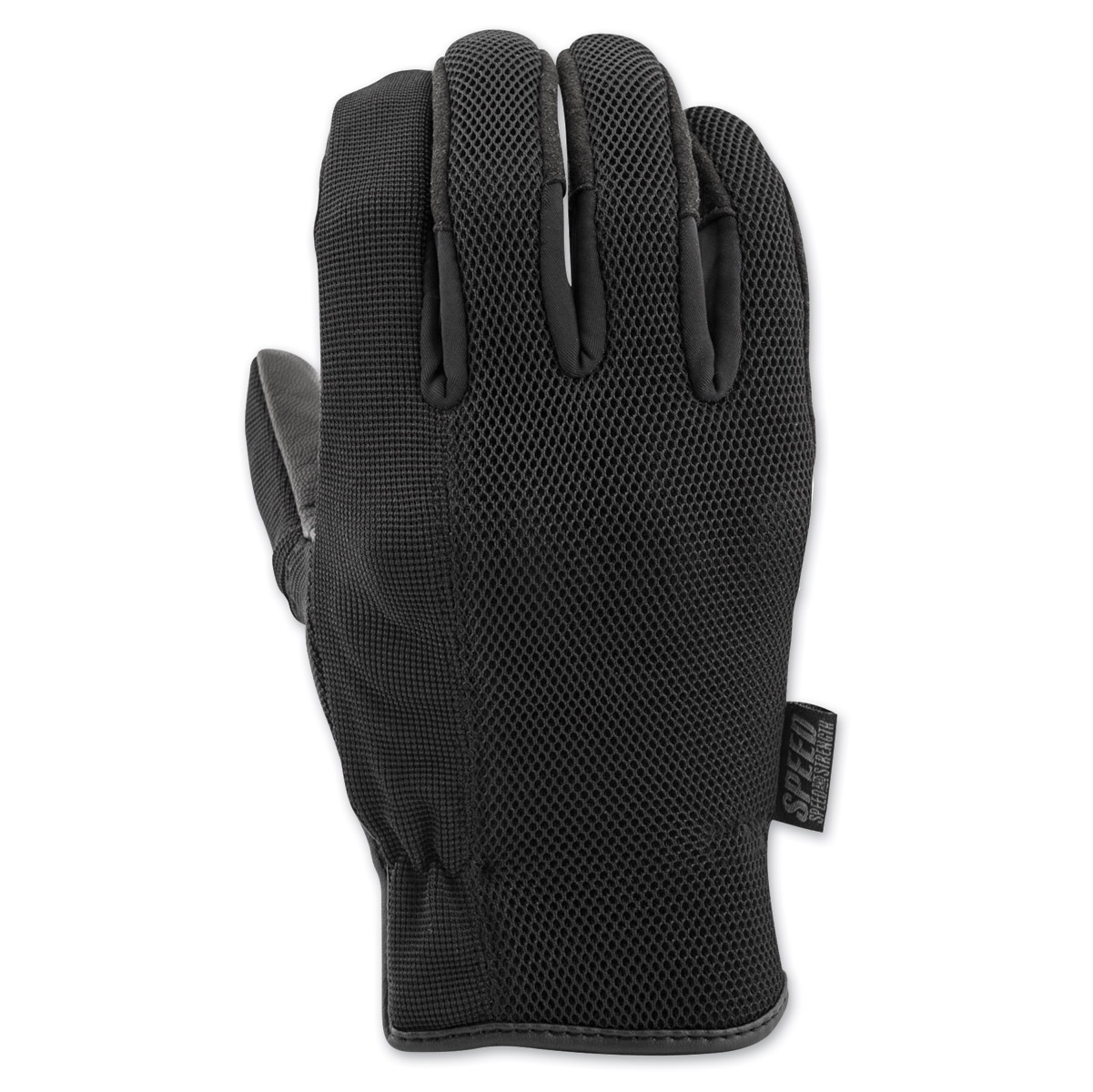 Speed and Strength Men's Last Man Standing Black Leather Gloves