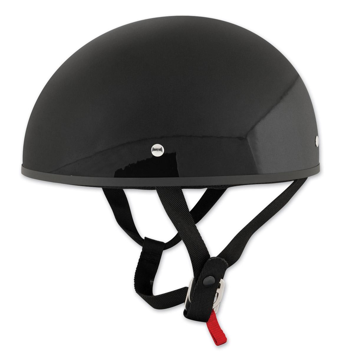 Speed and Strength SS210 Solid Speed Gloss Black Half Helmet