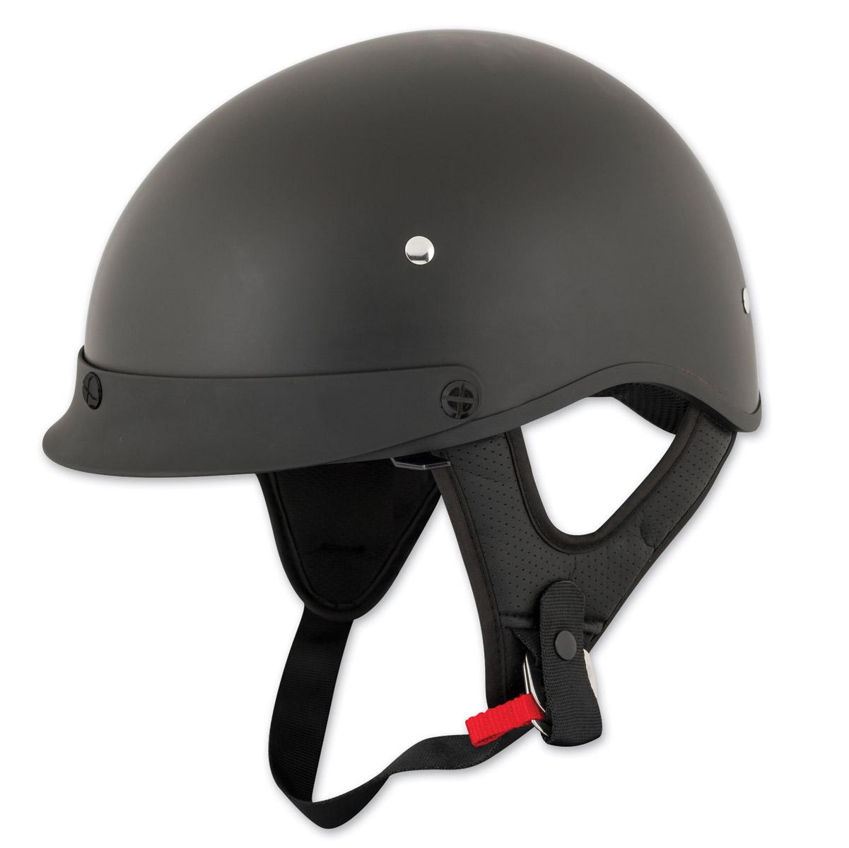 Speed and Strength SS410 Solid Speed Matte Black Half Helmet