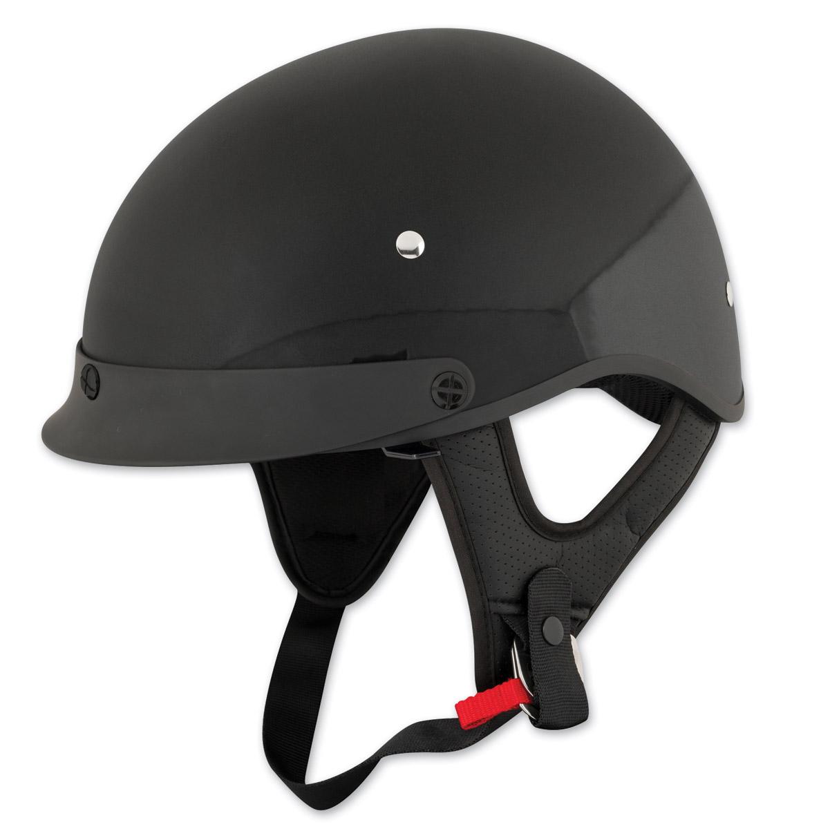 Speed and Strength SS410 Solid Speed Gloss Black Half Helmet