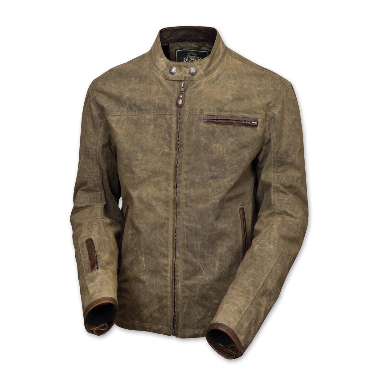 Roland Sands Design Men's Ronin Ranger Waxed Cotton Jacket