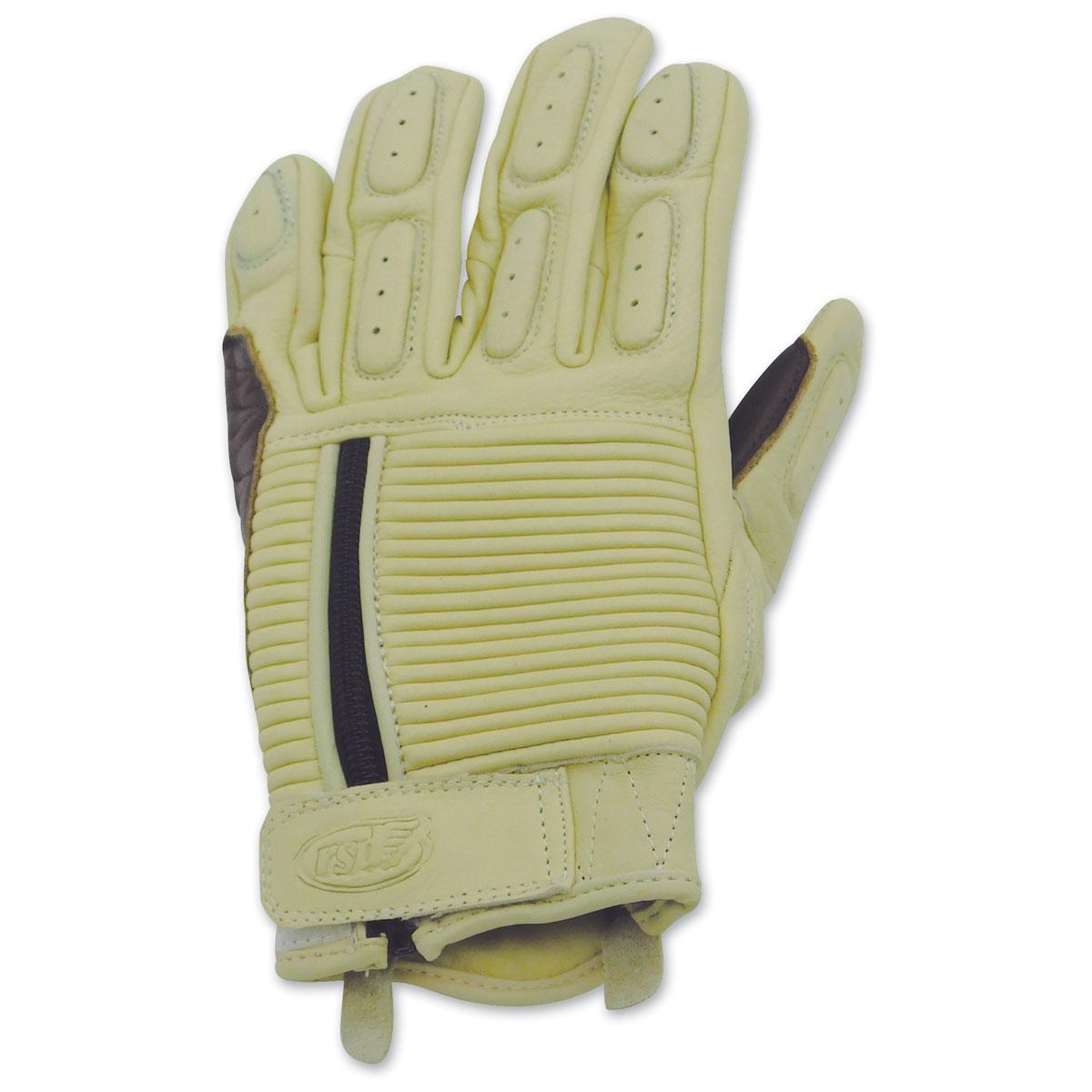 Roland Sands Design Men's Dezel Whiskey Leather Gloves