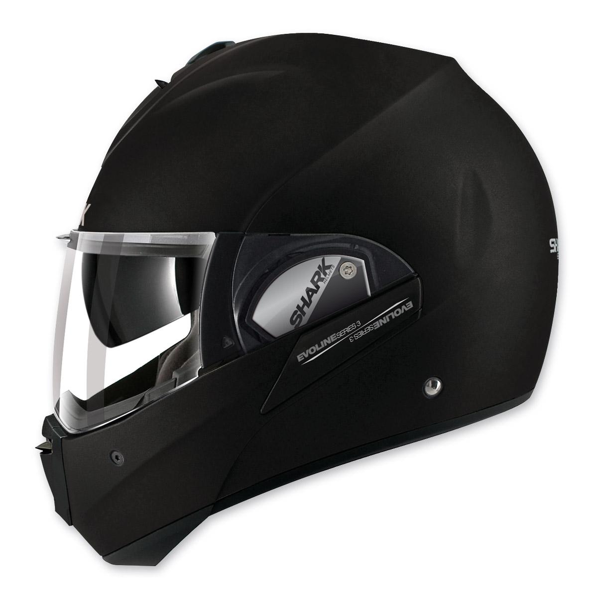 Shark Evoline 3 Uni Matte Black Modular Helmet