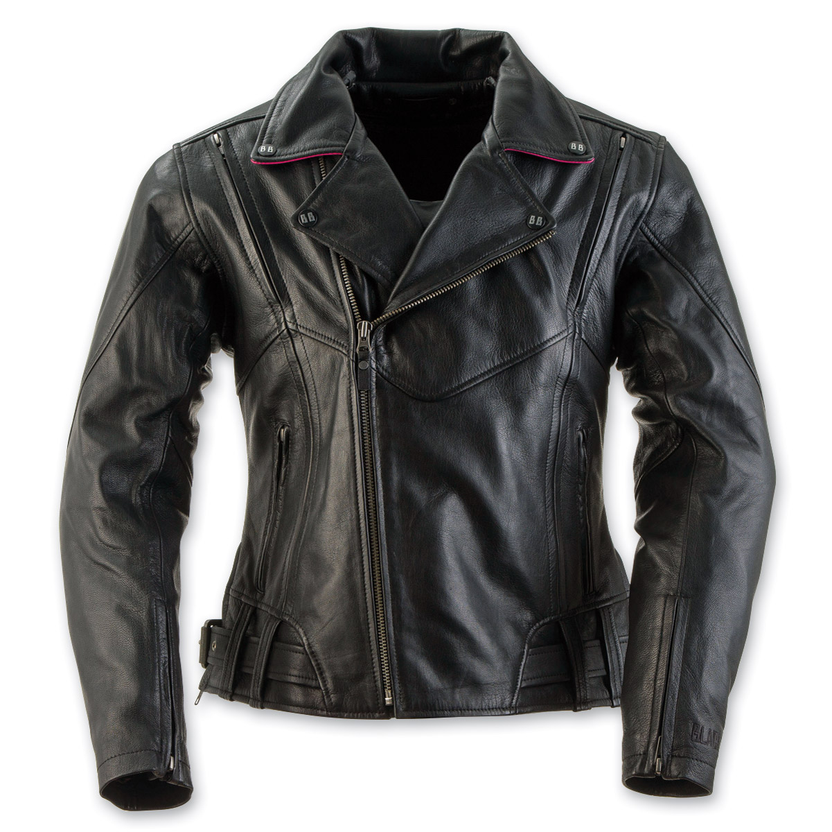 Black Brand Women's Sapphire Black Leather Jacket