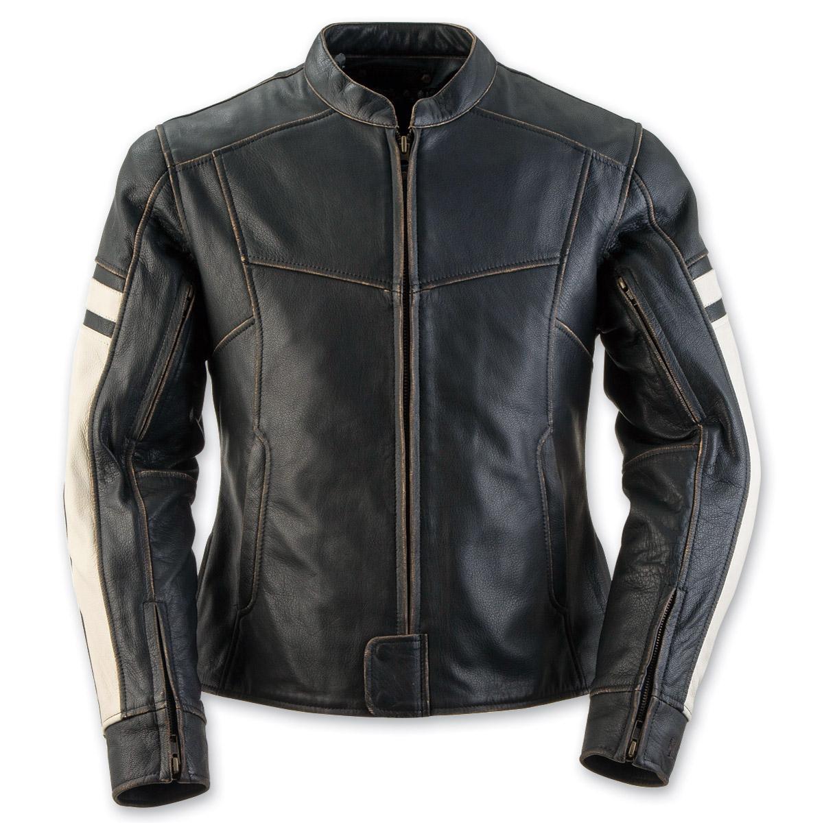 Black Brand Women's Eternity Black Leather Jacket