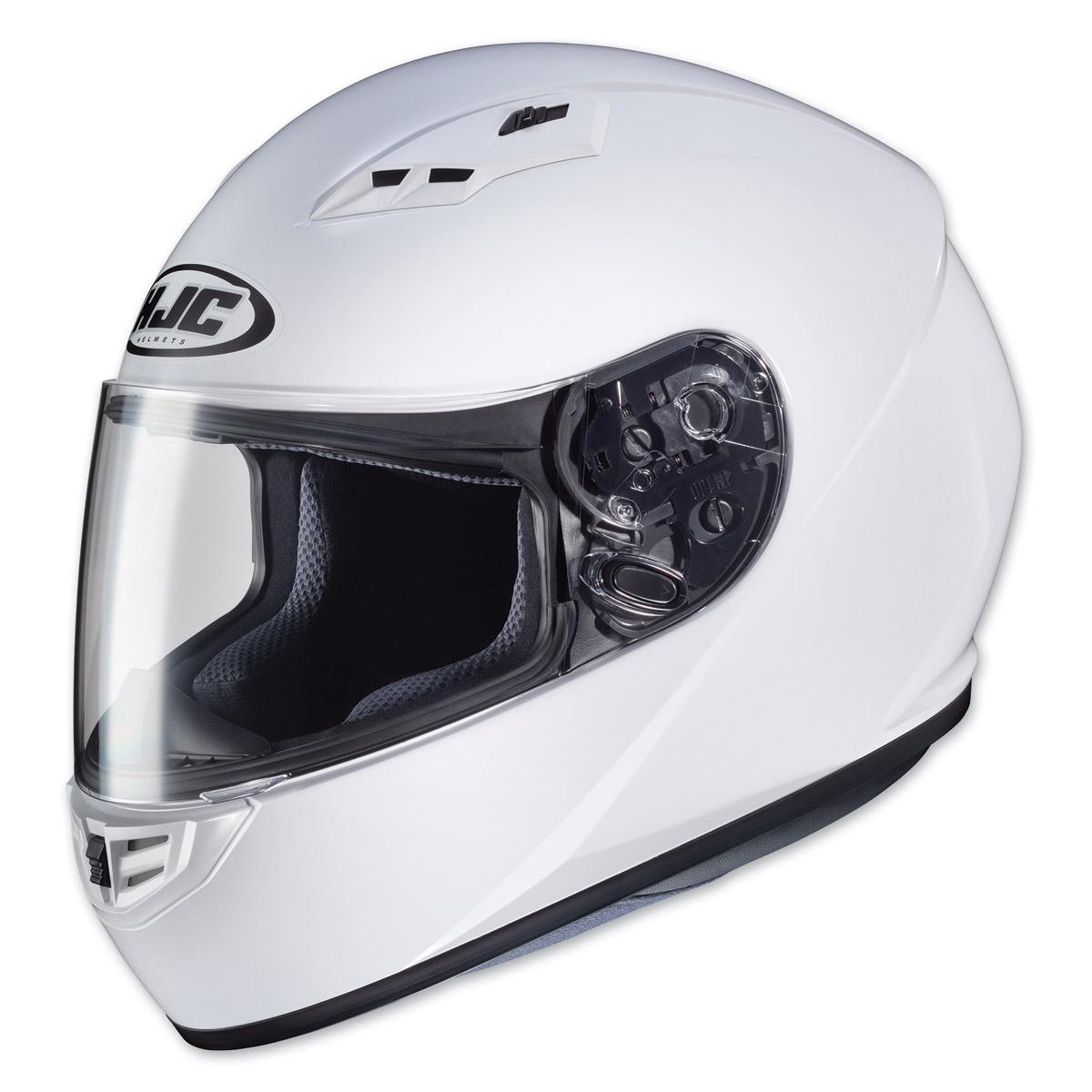 HJC CS-R3 White Full Face Helmet