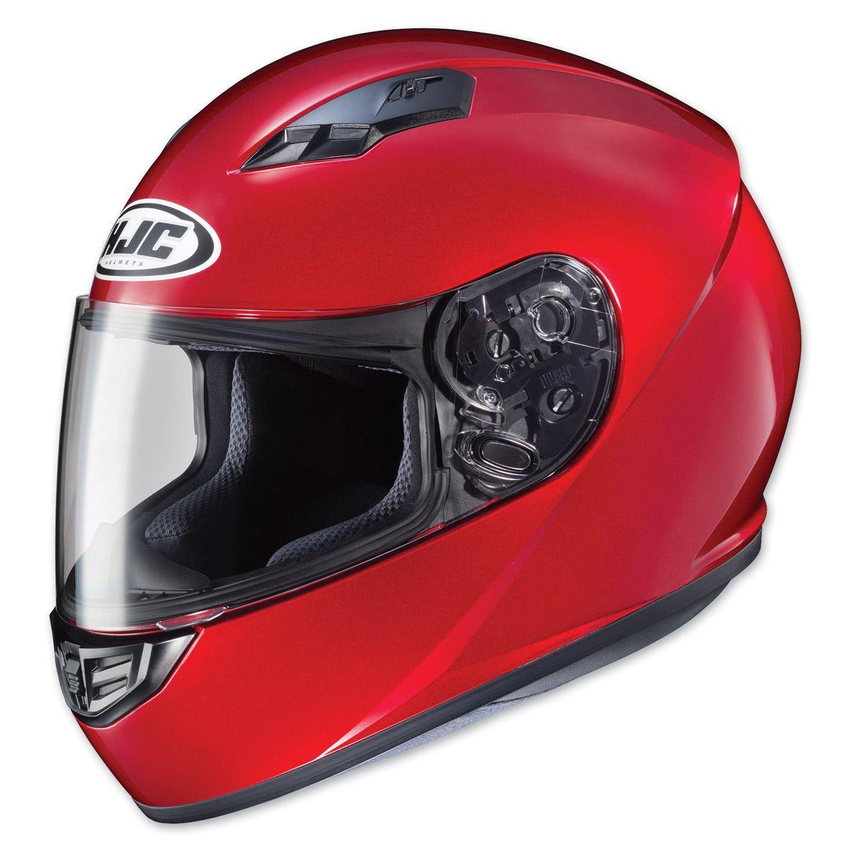HJC CS-R3 Candy Red Full Face Helmet
