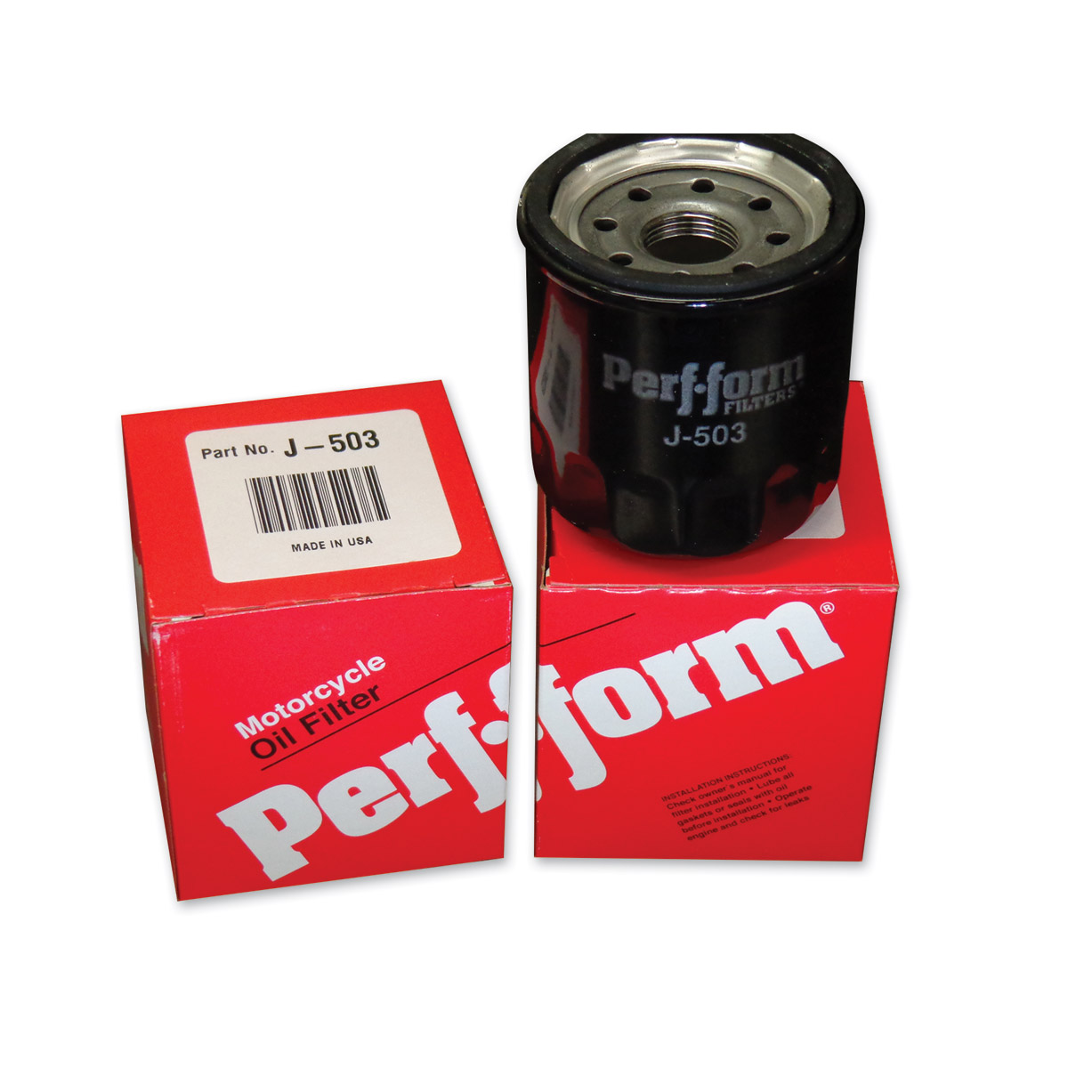 Perf-form Spin-On Oil Filter
