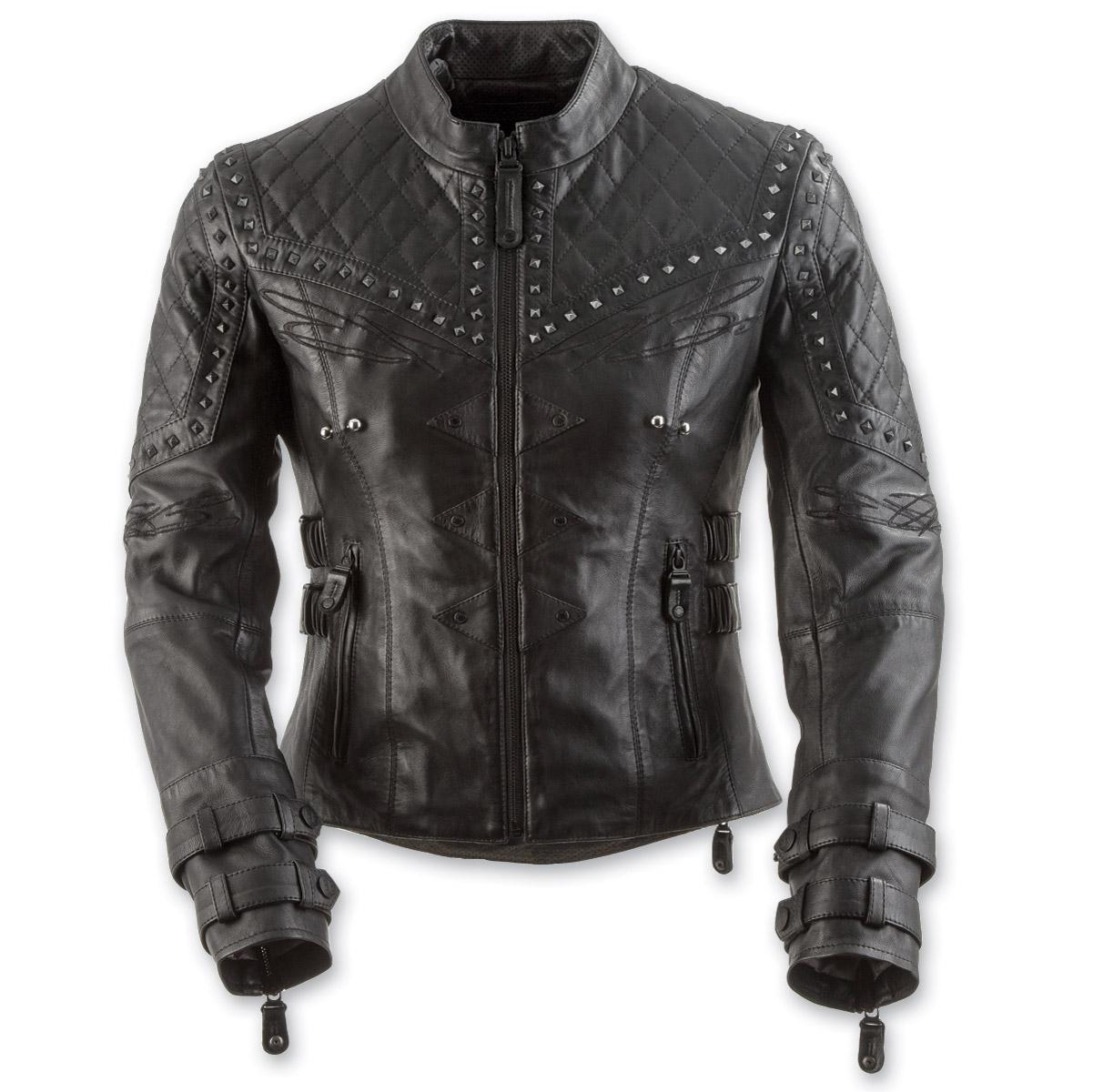 Black Brand Women's Brazilian Wax Black Leather Jacket