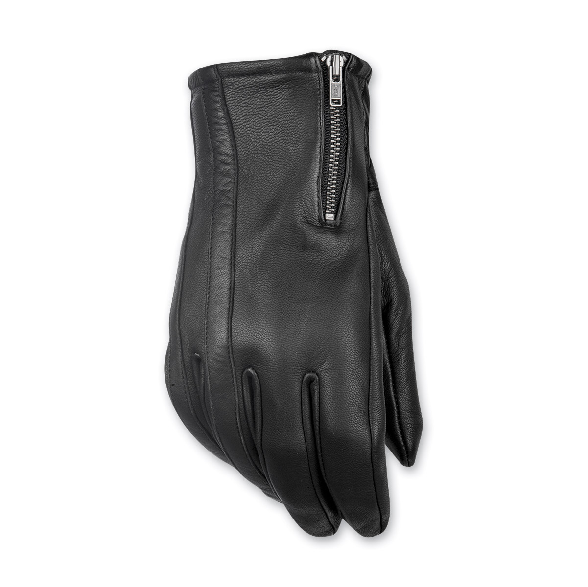 Highway 21 Men's Recoil Black Leather Gloves