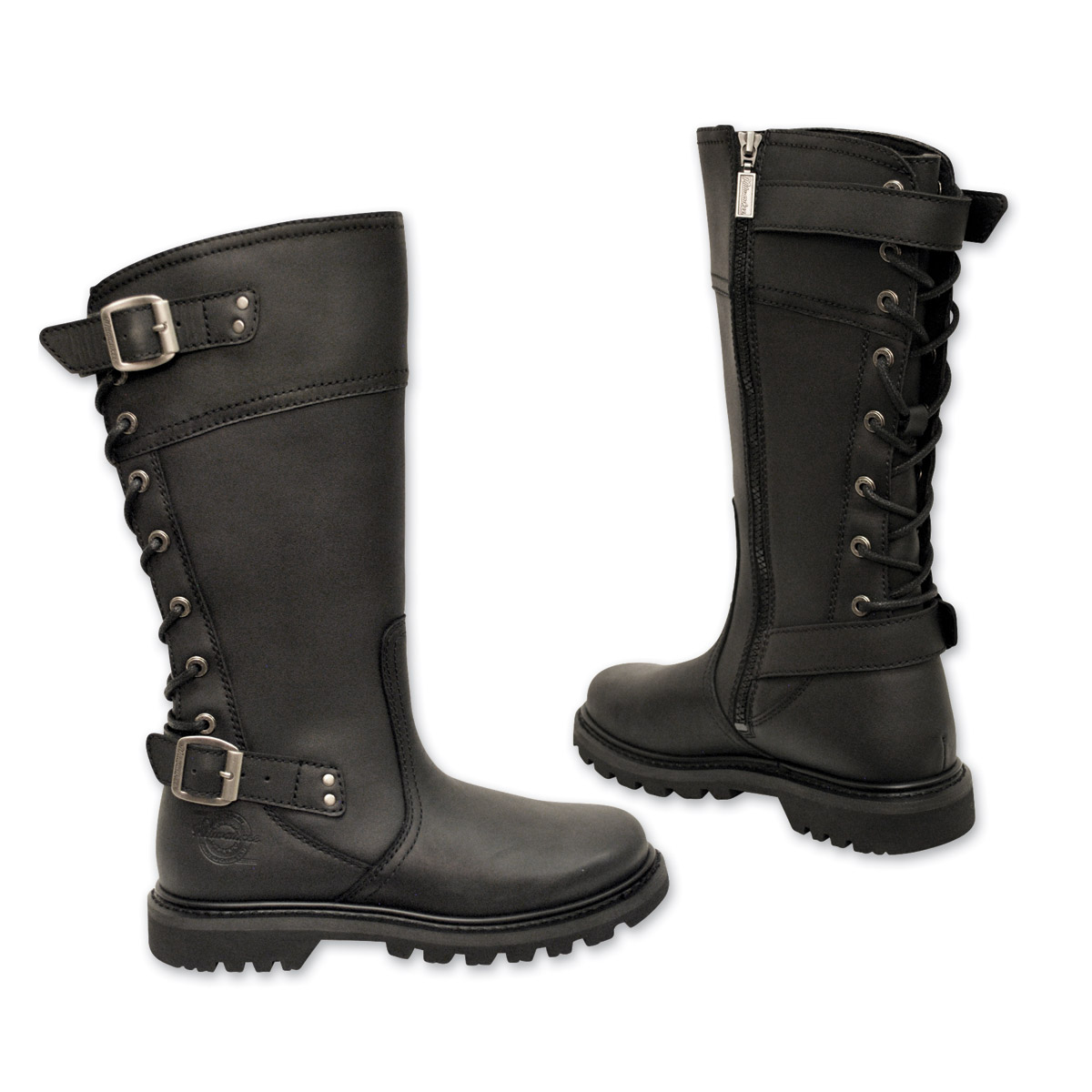eb646799b7fe Milwaukee Motorcycle Clothing Co. Women s Dreamgirl Black Leather Boots