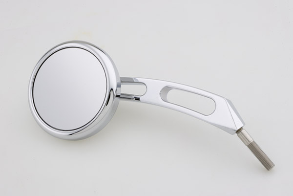 Landmark  Round Stepped Billet Mirror