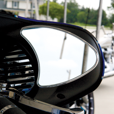 Performance Machine Contour Touring Mirrors