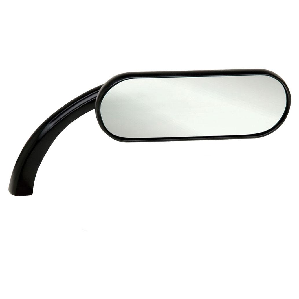 Arlen Ness Right Side Mini Oval Micro Mirror