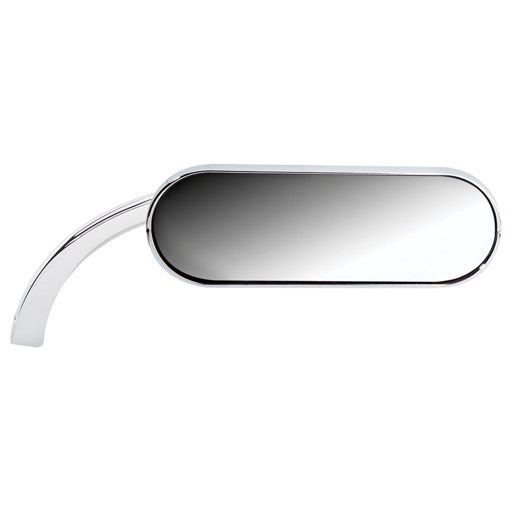Arlen Ness Chrome Mini Oval Micro Mirrors (Sold Individually)