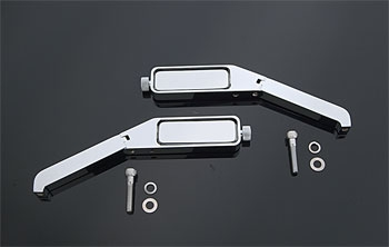 J&P Cycles® Thin-Line Low Profile Mirrors