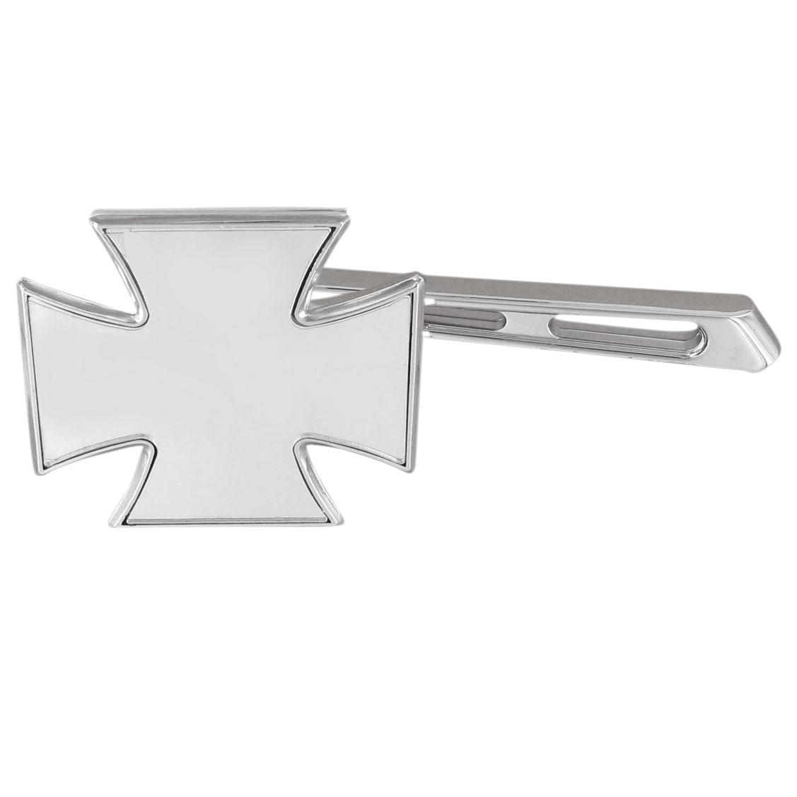 J&P Cycles Chrome Maltese Mirror with Air Glide Stem