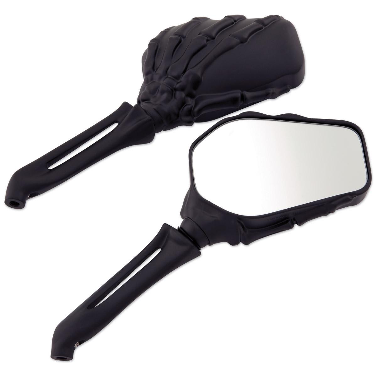 Milwaukee Twins Black Hand Bone Mirrors
