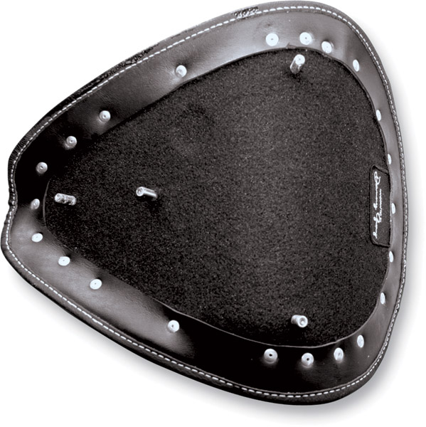 Danny Gray Leather Bobber Seat