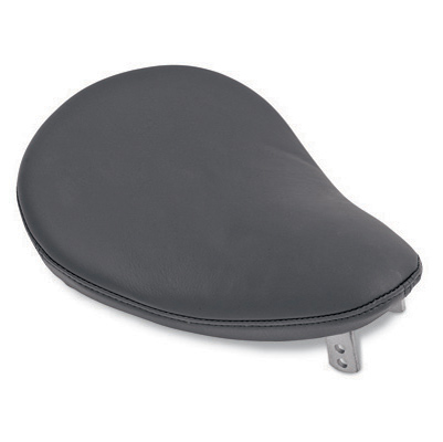 Drag Specialties Small Spring Solo Seat with Black Faux Leather