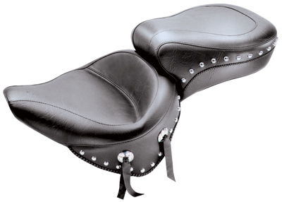 Mustang One-Piece Wide Studded Touring Seat - 75072