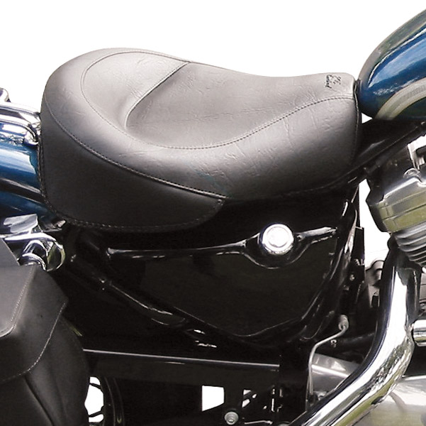 Mustang Motorcycle Seats Wide Vintage Solo Seat