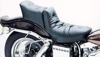 Mustang Regal Duke One-Piece Seat, Original, Black