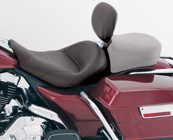 Mustang Vintage Solo Seat with Backrest