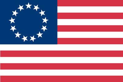 Rumbling Pride Betsy Ross 6″ x 9″ Flag