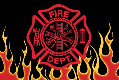 Rumbling Pride Fireman Flames 6″ x 9″ Flag