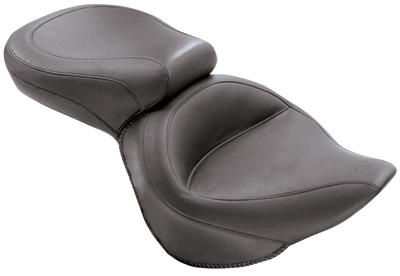 Mustang One-Piece Wide Vintage Touring Seat