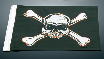 Kuryakyn Replacement Crossbones Flag