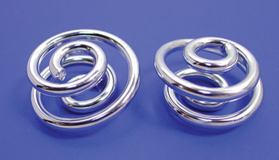 V-Twin Manufacturing Chrome 1″ Seat Spring