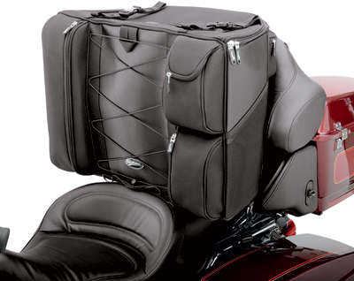 Saddlemen Touring Bike Back Seat Bag