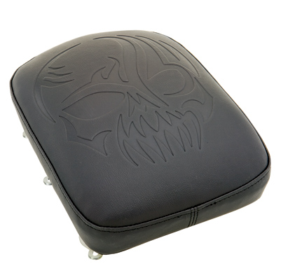 Phantom Pad Skull Tattoo Gel Passenger Pad